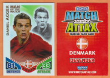 Denmark Daniel Agger Liverpool 256 Man of the Match